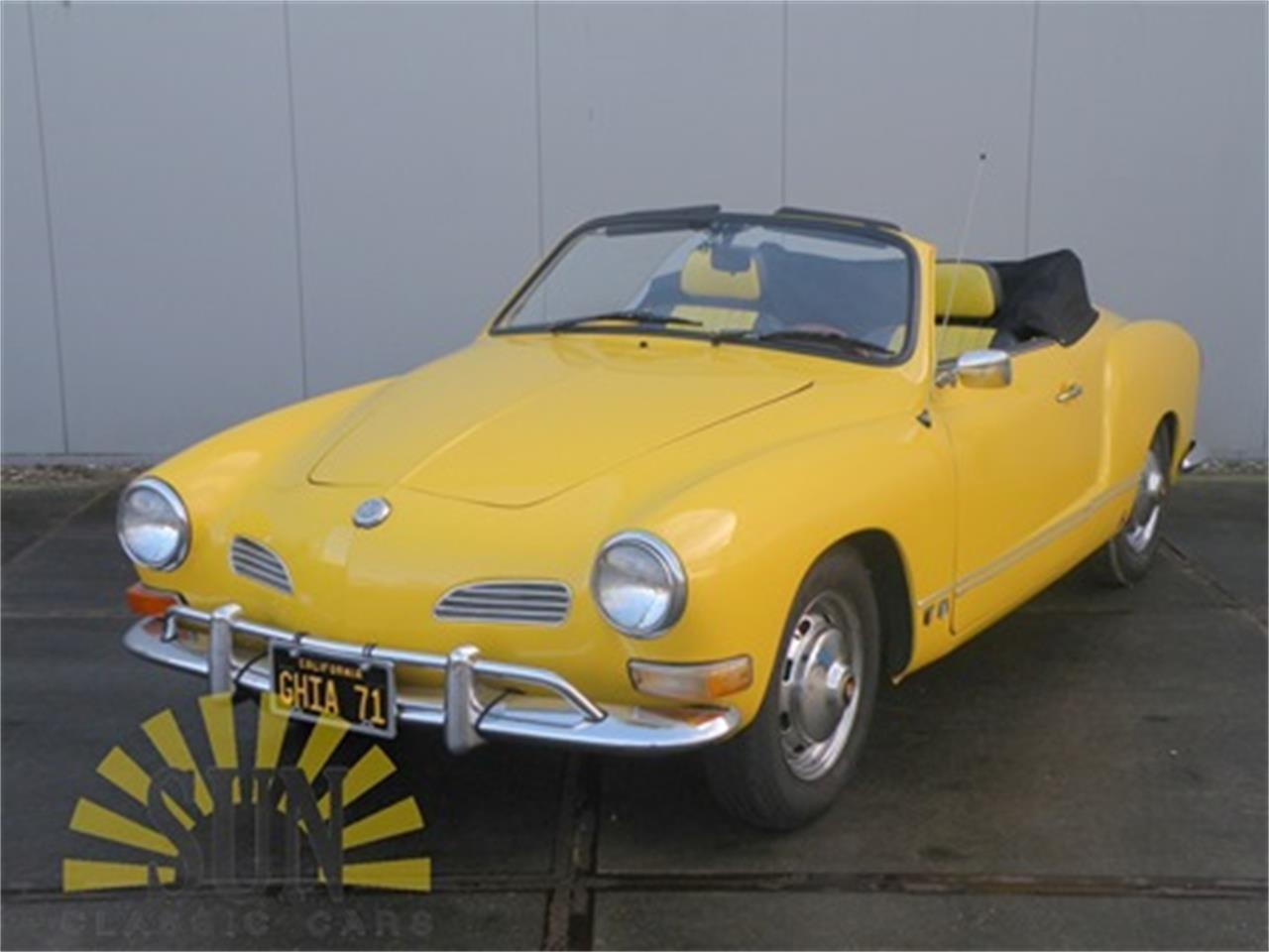 Large Picture of Classic 1971 Volkswagen Karmann Ghia - $19,050.00 Offered by E & R Classics - MNPJ