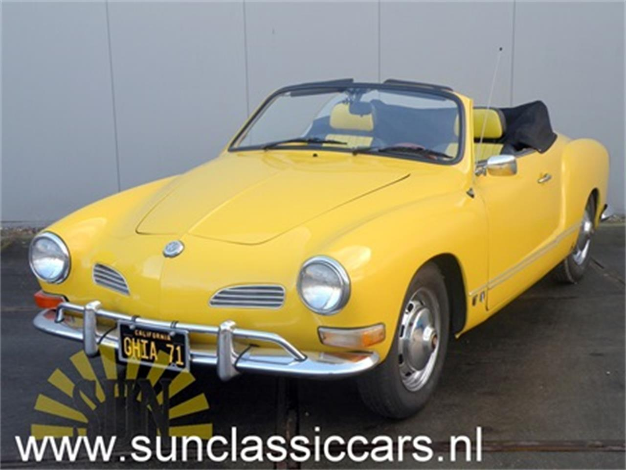 Large Picture of '71 Volkswagen Karmann Ghia located in Noord Brabant - $19,050.00 Offered by E & R Classics - MNPJ
