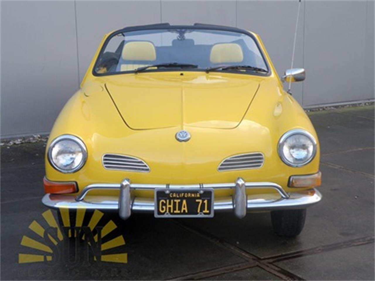 Large Picture of '71 Volkswagen Karmann Ghia Offered by E & R Classics - MNPJ