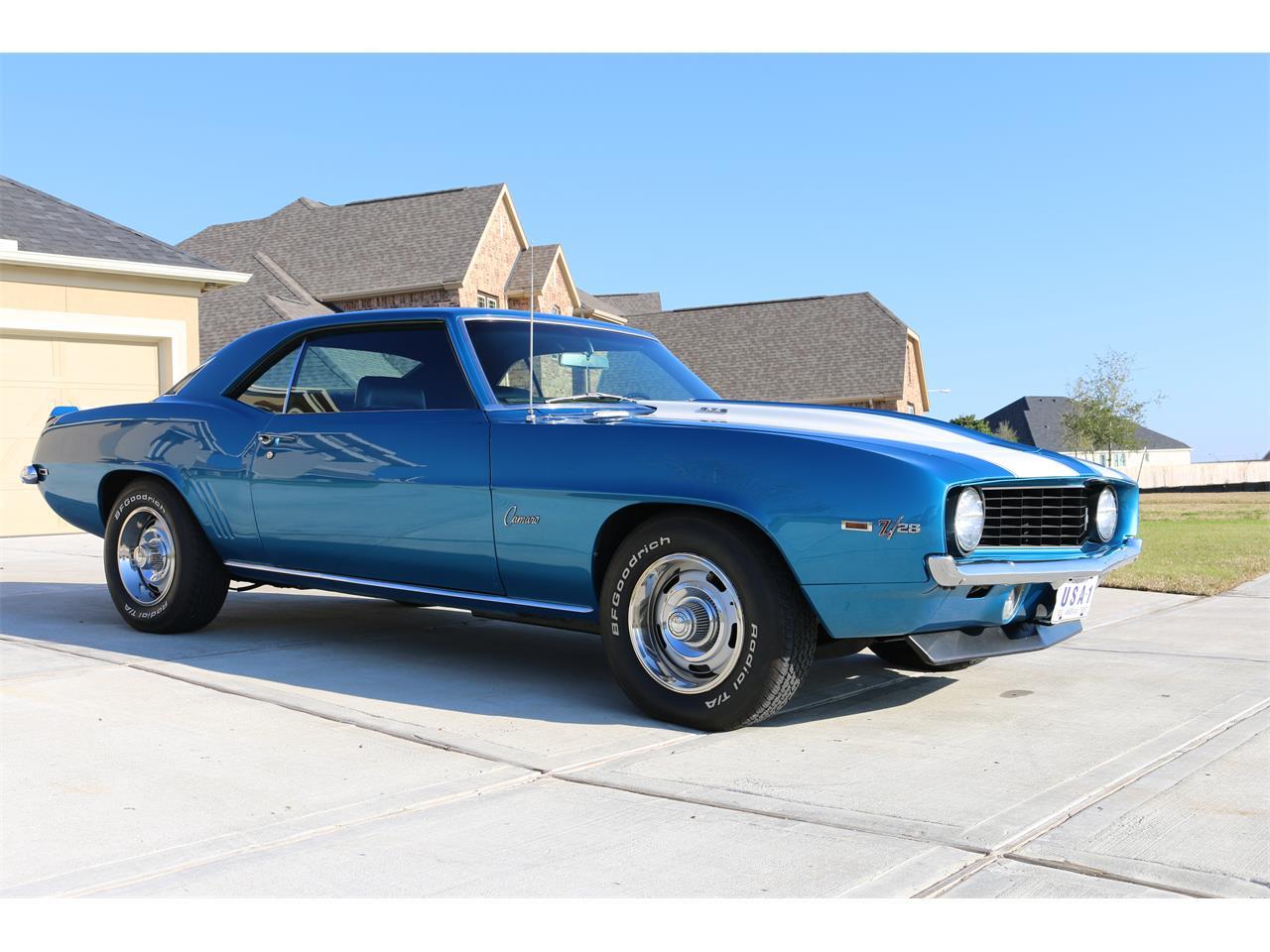 For Sale: 1969 Chevrolet Camaro Z28 in Houston, Texas