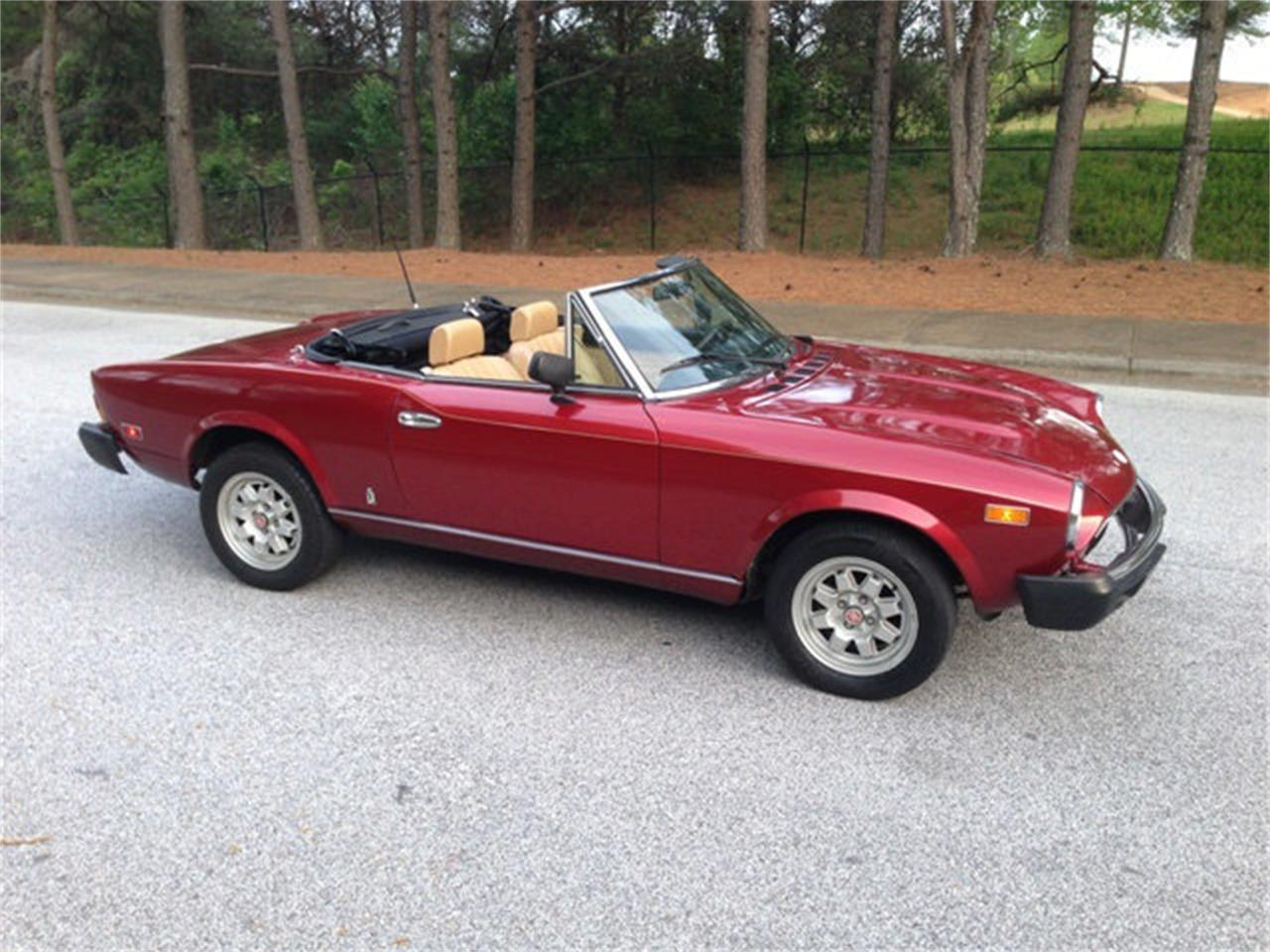 Large Picture of '82 Fiat 124 - $12,900.00 Offered by Dixie Dream Cars - MNZD
