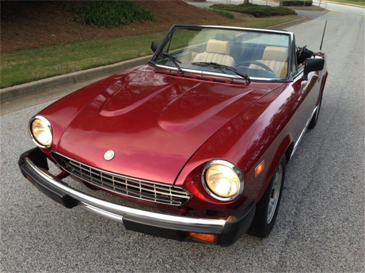 Large Picture of '82 Fiat 124 Offered by Dixie Dream Cars - MNZD