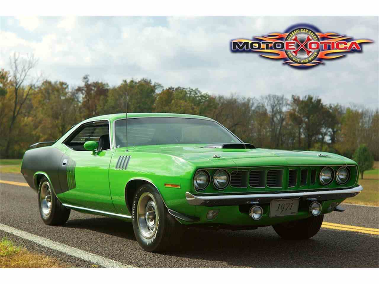 Large Picture of '71 Barracuda - MNZO