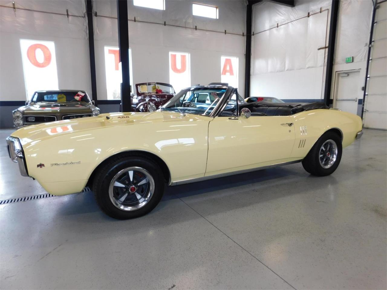 Large Picture of Classic 1967 Pontiac Firebird 400 located in Oregon Offered by Bend Park And Sell - MNZY