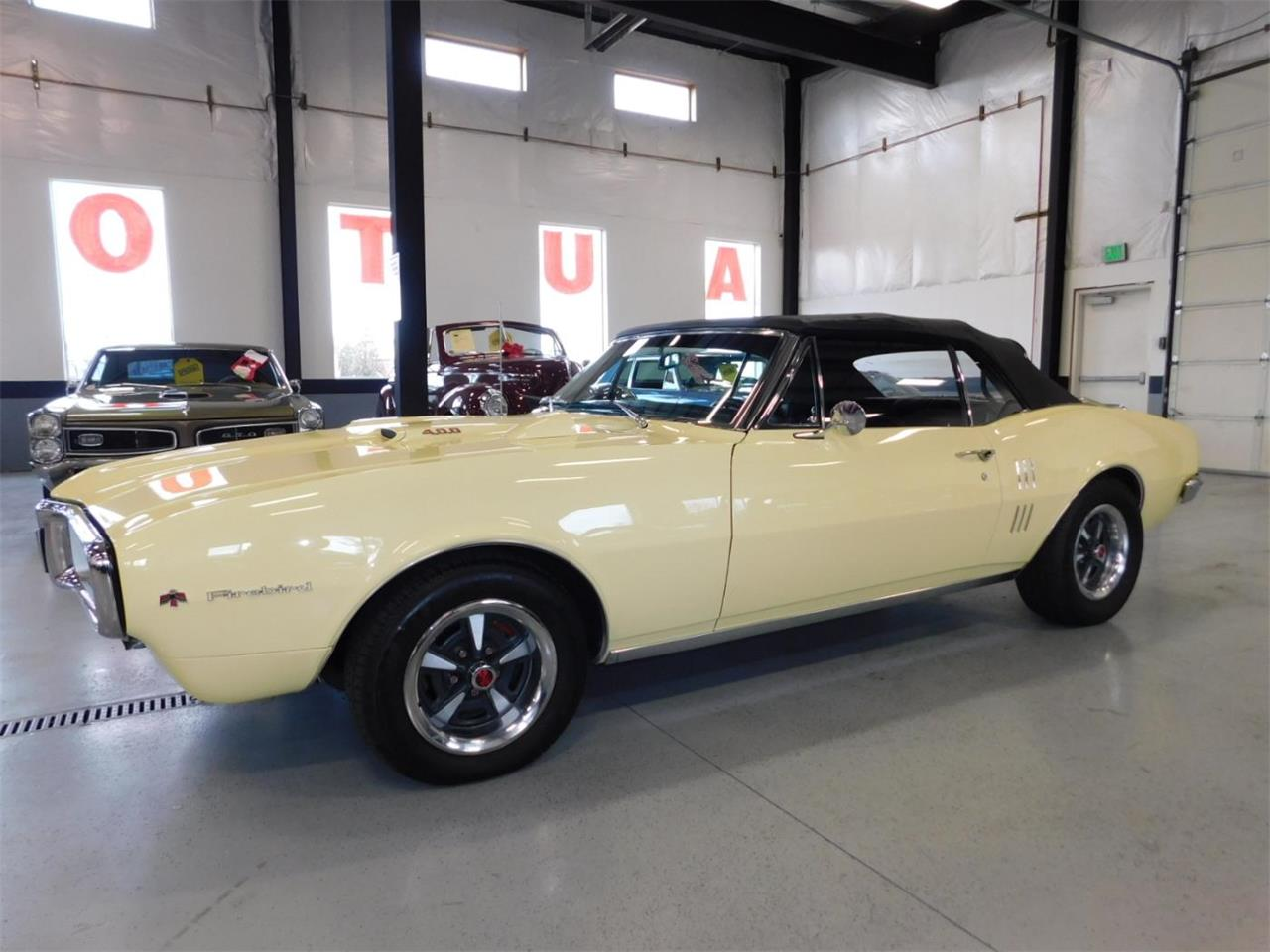 Large Picture of Classic '67 Pontiac Firebird 400 located in Oregon Offered by Bend Park And Sell - MNZY