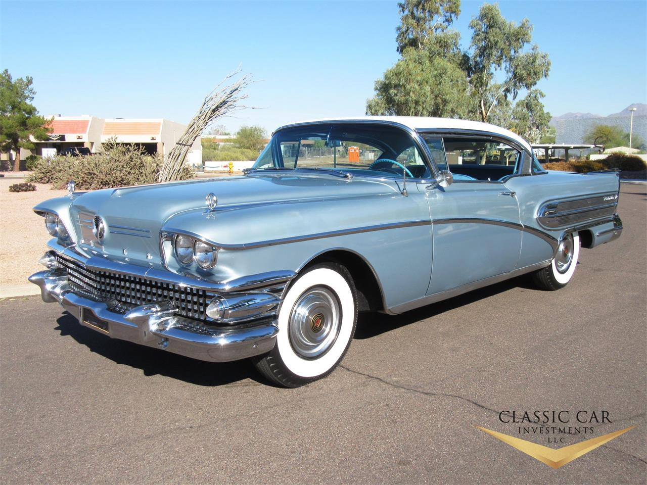 For Sale 1958 Buick Roadmaster In Scottsdale Arizona
