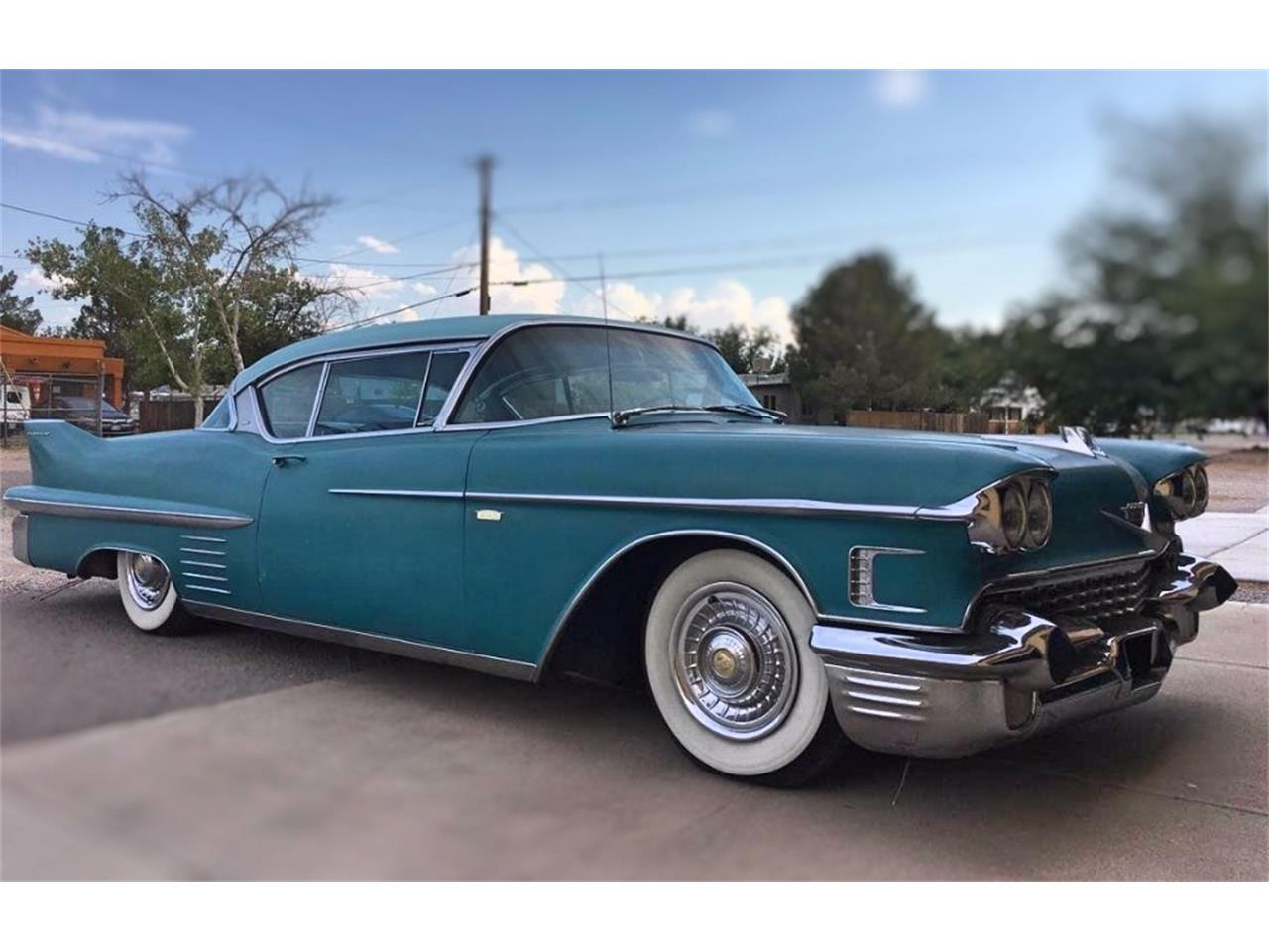 Large Picture of Classic '58 Cadillac DeVille located in Illinois Offered by VICCI Car Auctions - MO0W