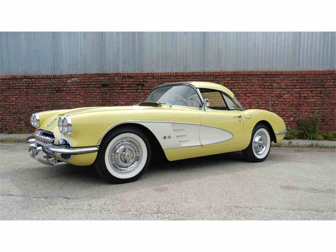 Large Picture of '58 Corvette - MO26