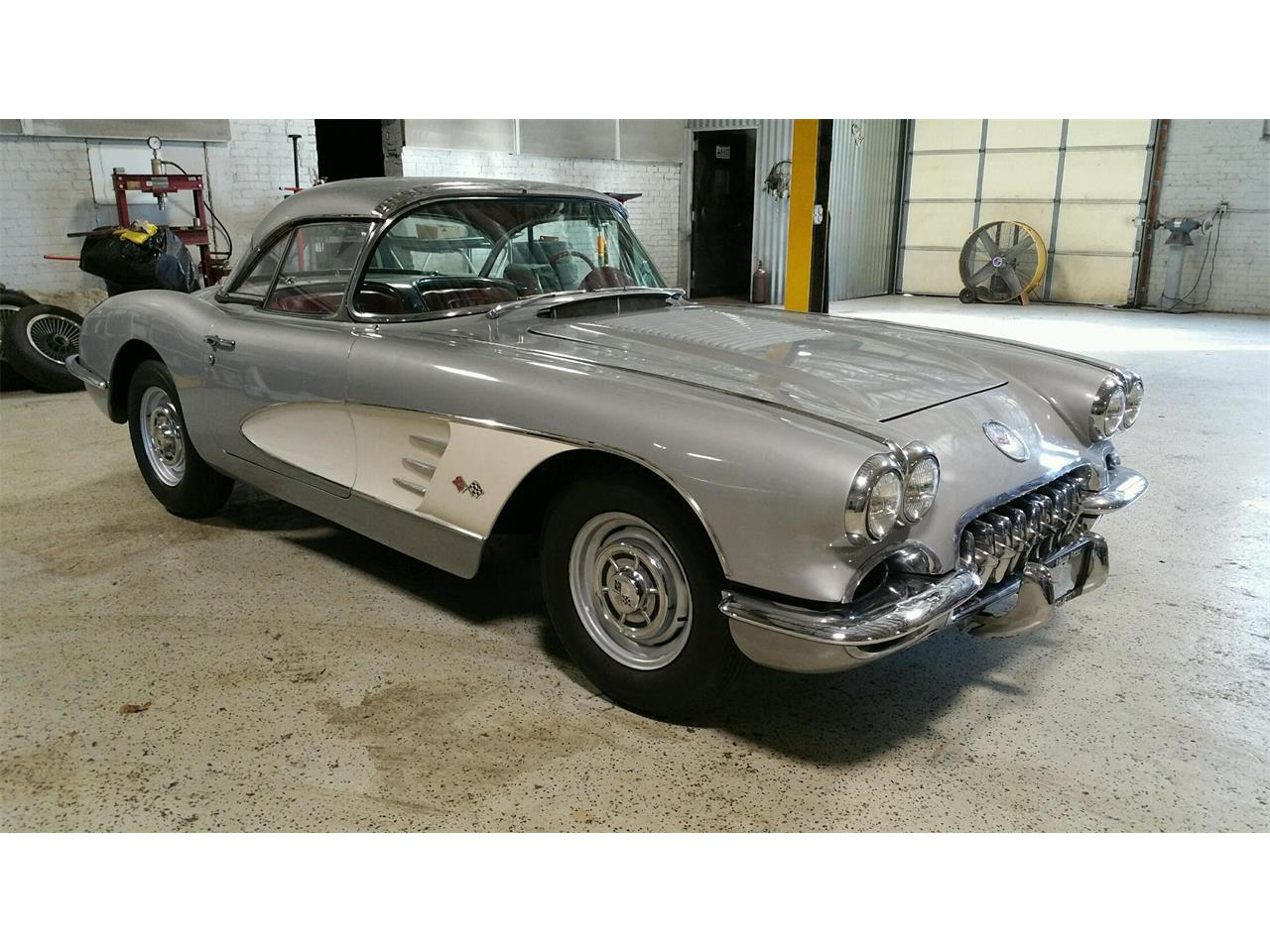 1958 chevrolet corvette for sale cc 1057619. Black Bedroom Furniture Sets. Home Design Ideas