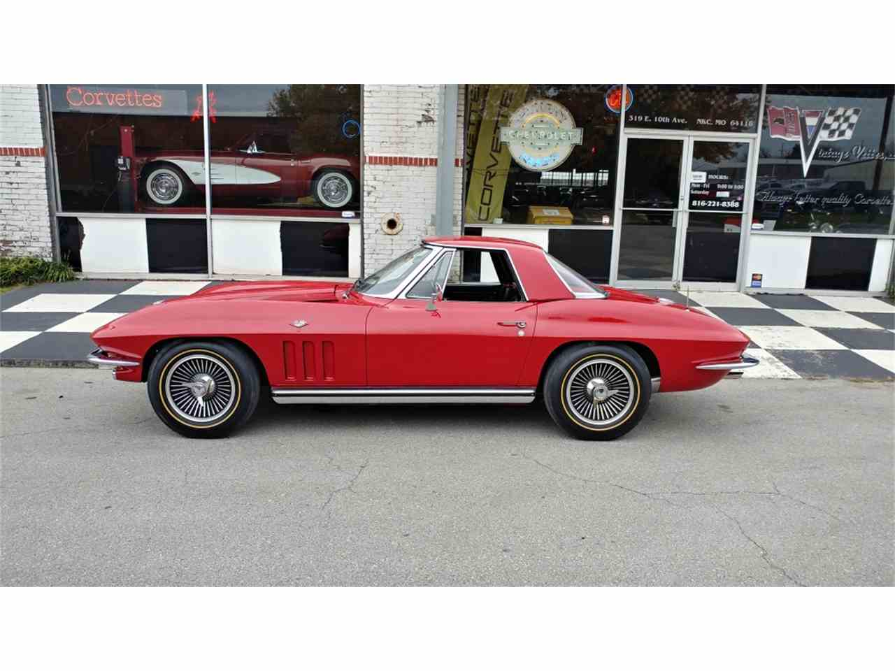Large Picture of Classic '65 Corvette located in Missouri - $69,995.00 Offered by Vintage Vettes, LLC - MO2I