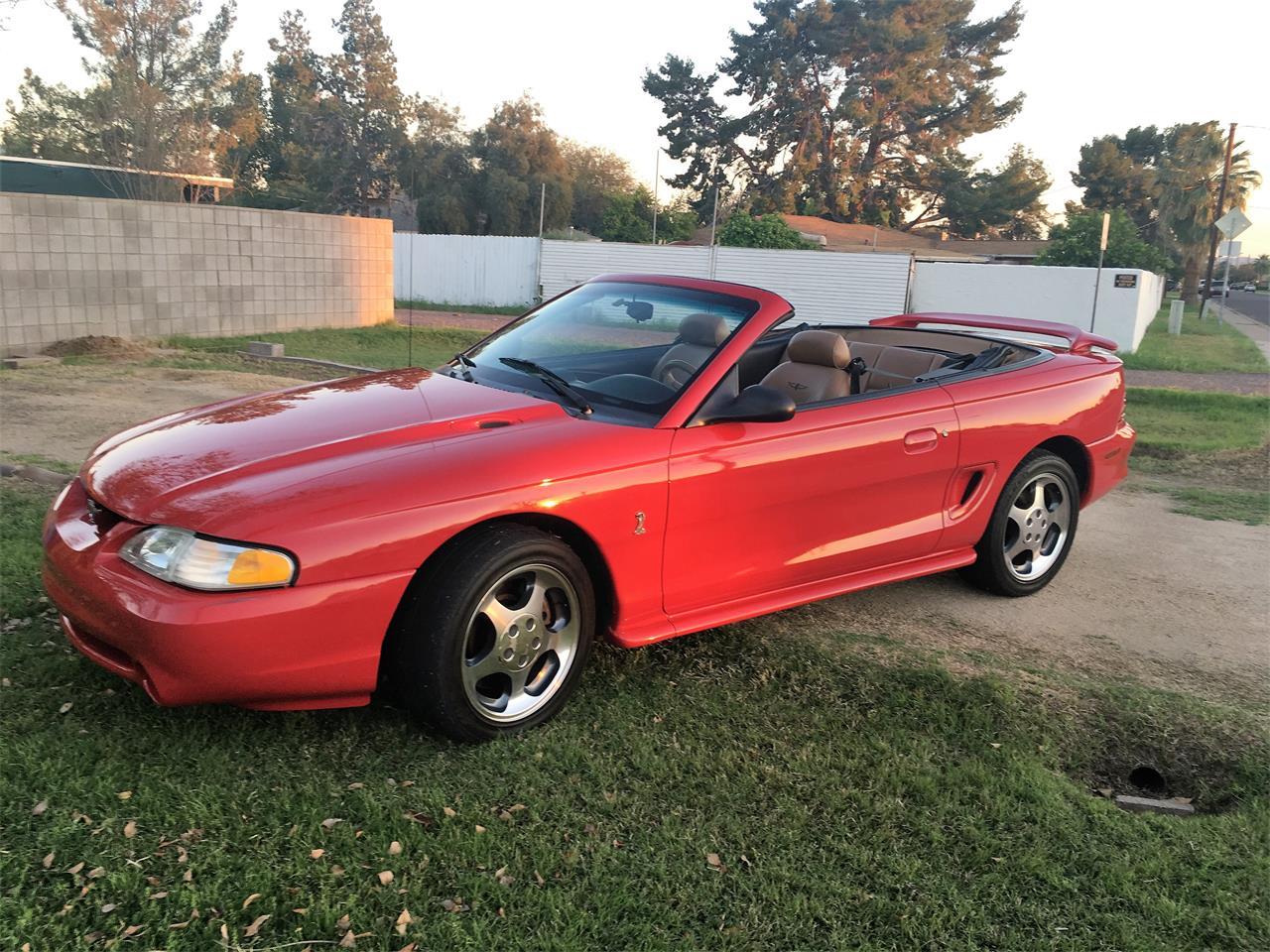 1994 ford mustang cobra for sale classiccars com cc 1057658 1975 Ford Mustang large picture of \u002794 mustang cobra mo3e