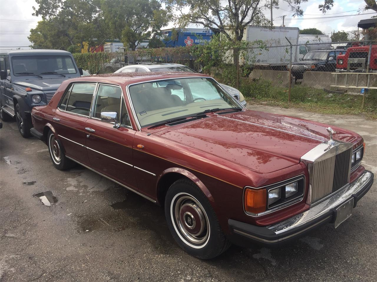 Large Picture of 1984 Rolls-Royce Silver Cloud Auction Vehicle Offered by Auction America - MO3J