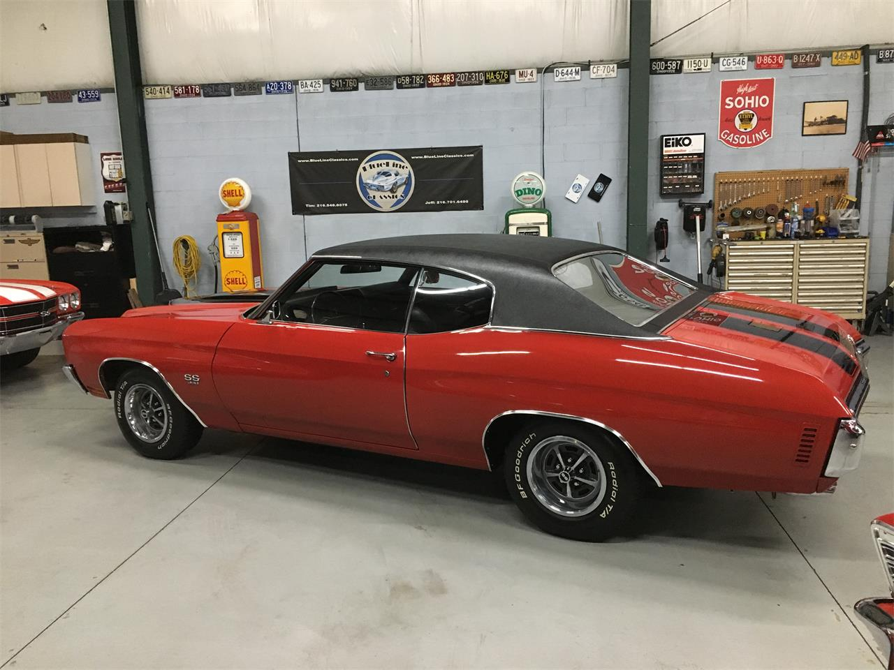 Large Picture of Classic '70 Chevrolet Chevelle SS Offered by BlueLine Classics - MO3N