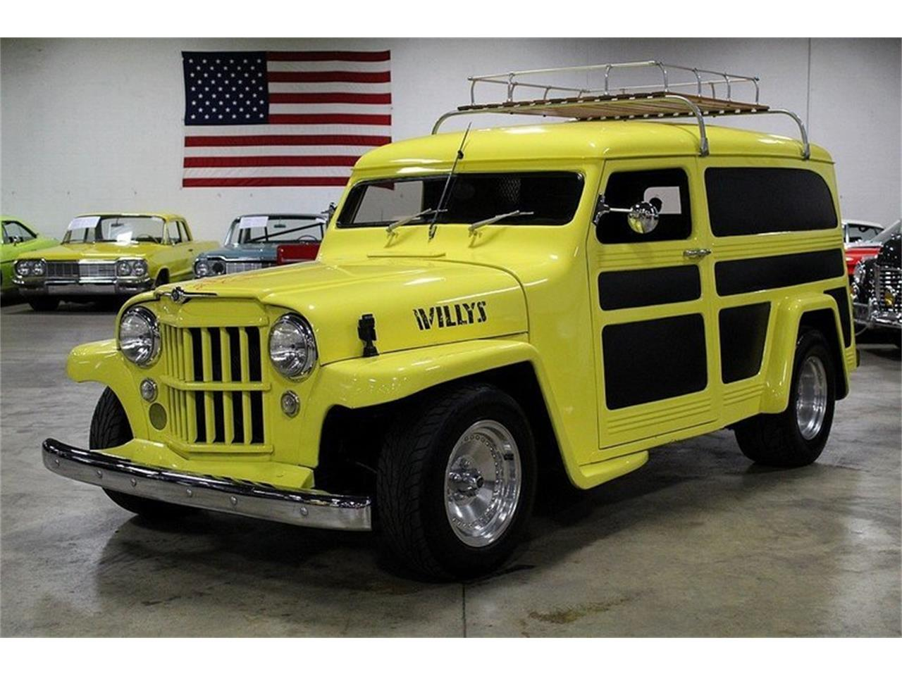 For Sale: 1950 Willys Utility Wagon in Kentwood, Michigan