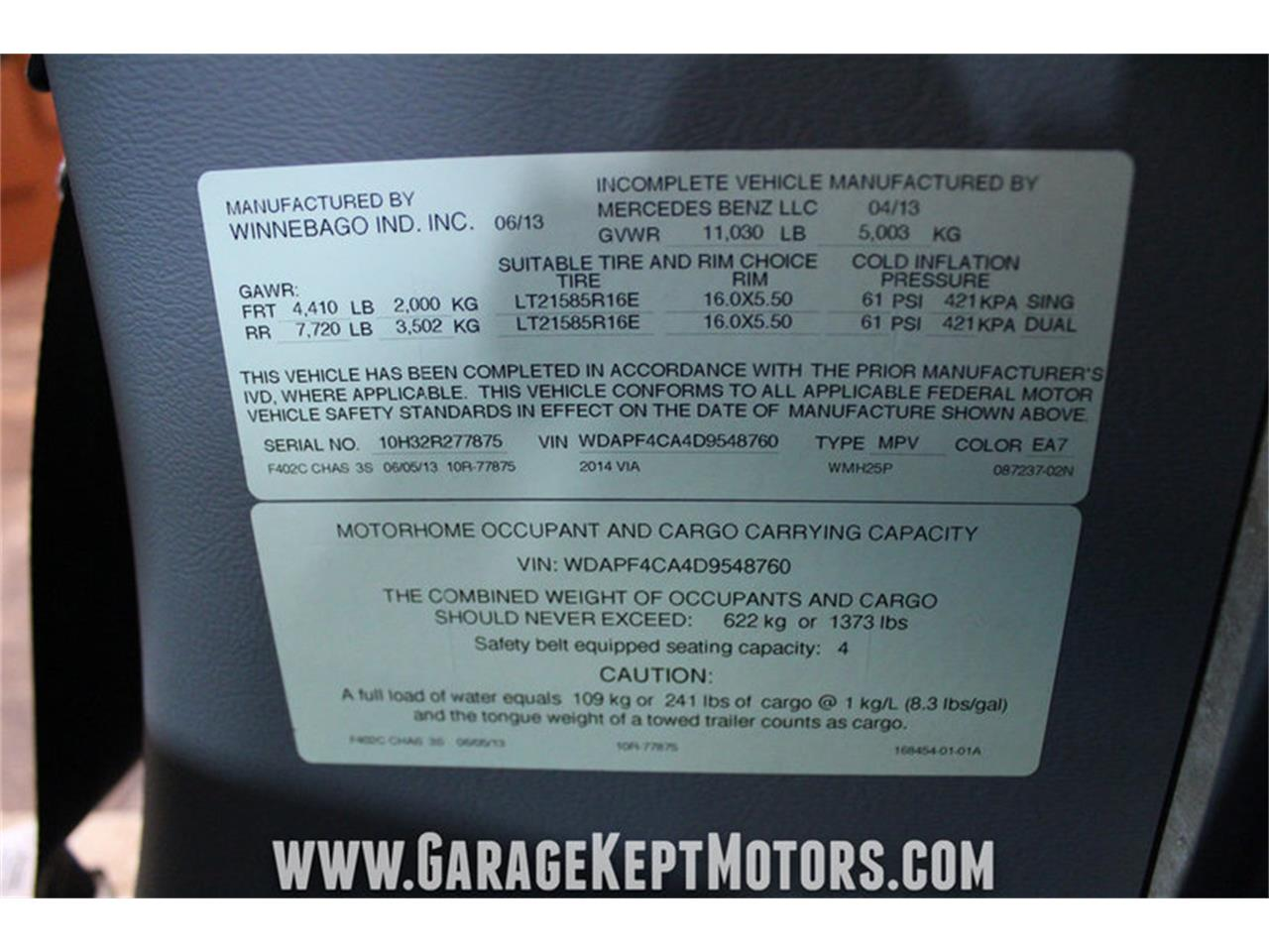 Large Picture of '14 Via 25P Offered by Garage Kept Motors - MO40