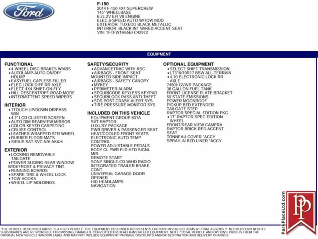 Large Picture of '14 F150 - MO4W
