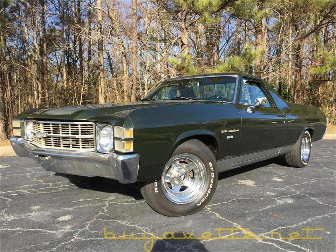 Large Picture of '71 Chevrolet El Camino - $21,995.00 Offered by Buyavette - MO5D