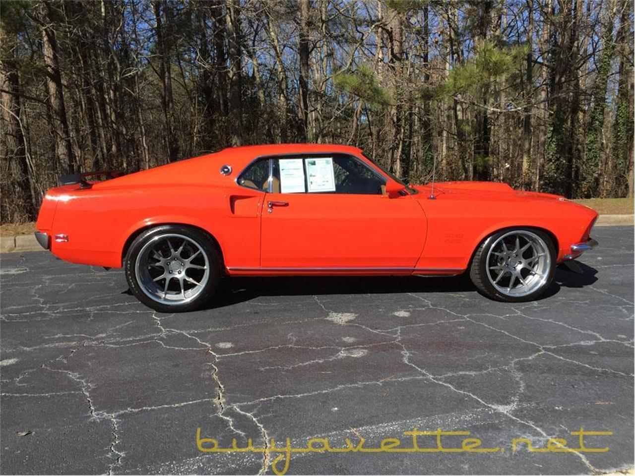 Large Picture of 1969 Ford Mustang located in Atlanta Georgia - $87,999.00 Offered by Buyavette - MO5F