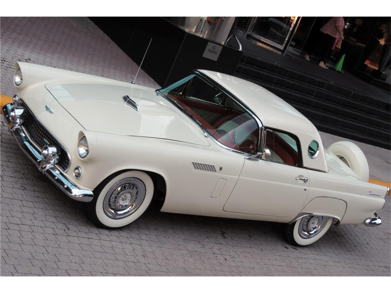 Large Picture of '56 Thunderbird located in Scottsdale Arizona Auction Vehicle Offered by Barrett-Jackson Auctions - MO5J