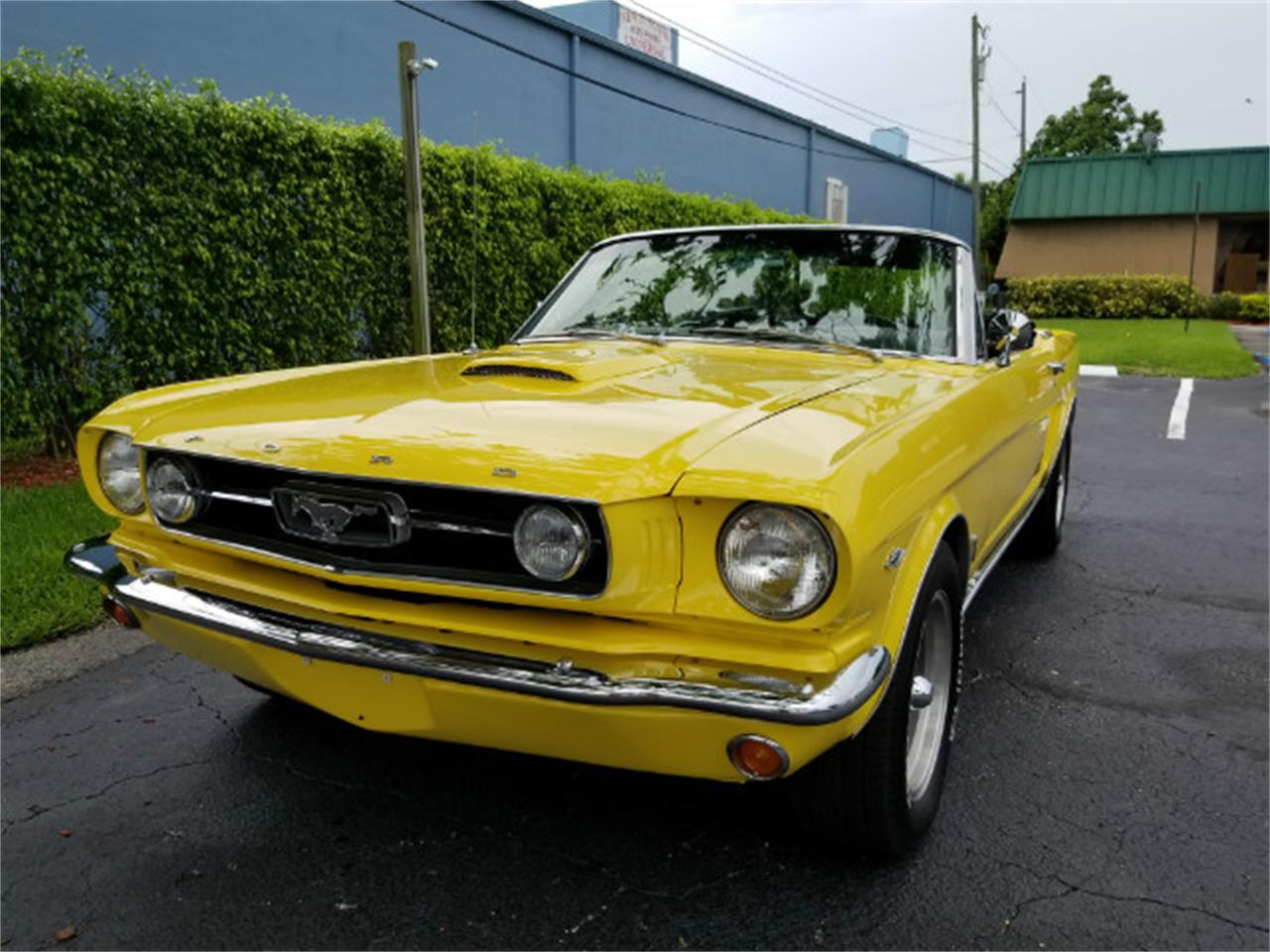 Large Picture of 1966 Mustang located in Linthicum Maryland - MO76