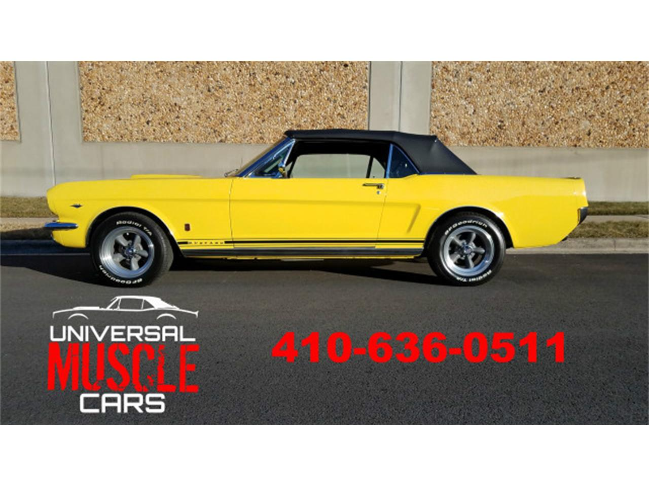 Large Picture of '66 Mustang located in Maryland Offered by Universal Auto Sales - MO76