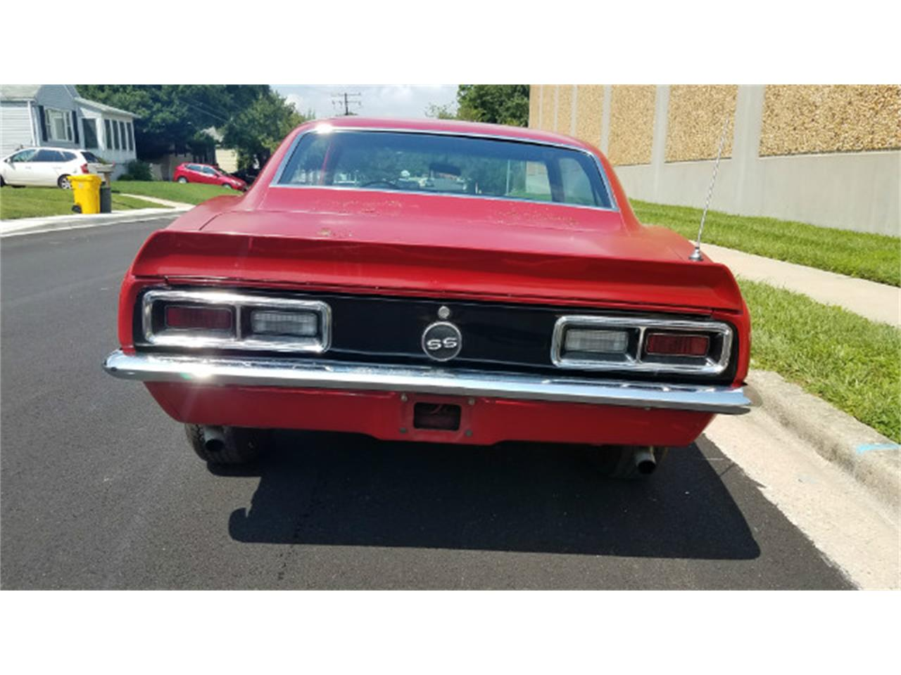 Large Picture of Classic '68 Camaro located in Linthicum Maryland Auction Vehicle - MO88