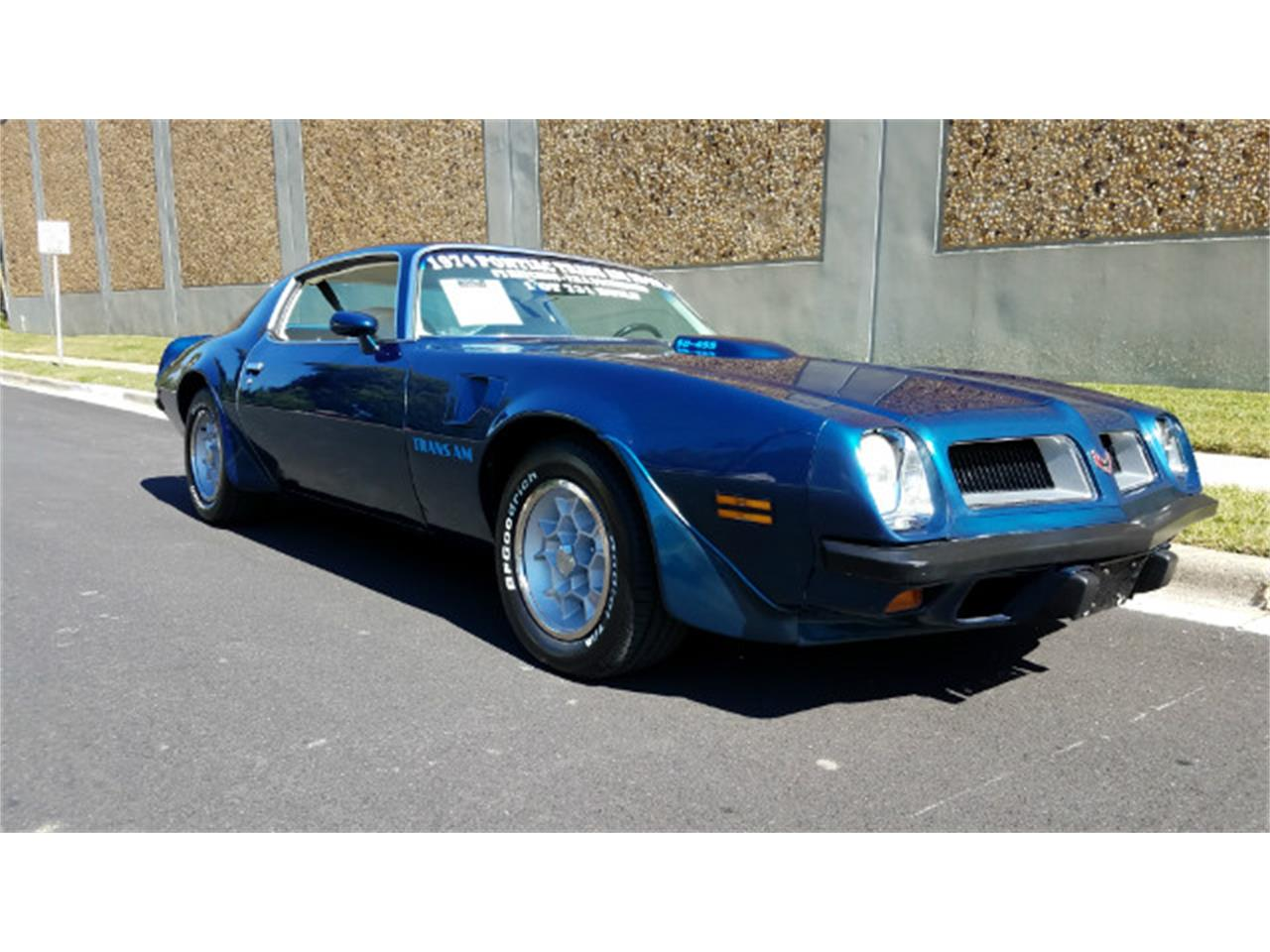 Large Picture of 1974 Pontiac Firebird Trans Am located in Maryland - $78,900.00 Offered by Universal Auto Sales - MO89