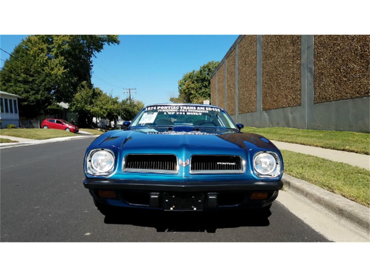 Large Picture of '74 Firebird Trans Am - $78,900.00 Offered by Universal Auto Sales - MO89