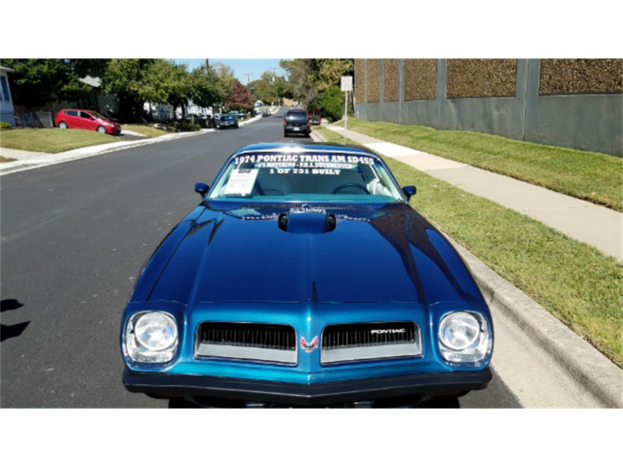Large Picture of '74 Pontiac Firebird Trans Am - MO89