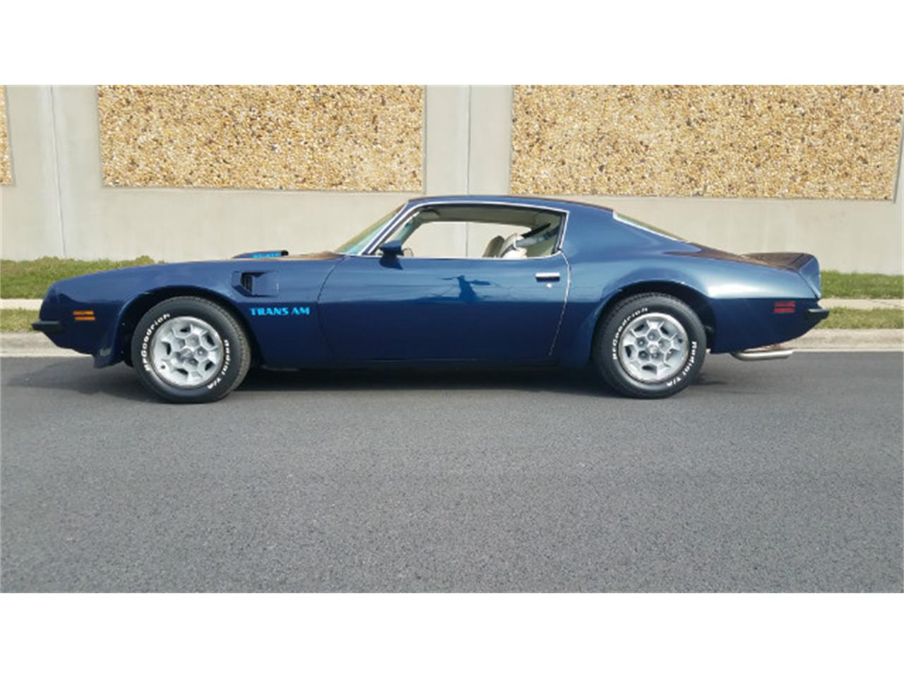 Large Picture of 1974 Pontiac Firebird Trans Am located in Linthicum Maryland Offered by Universal Auto Sales - MO89