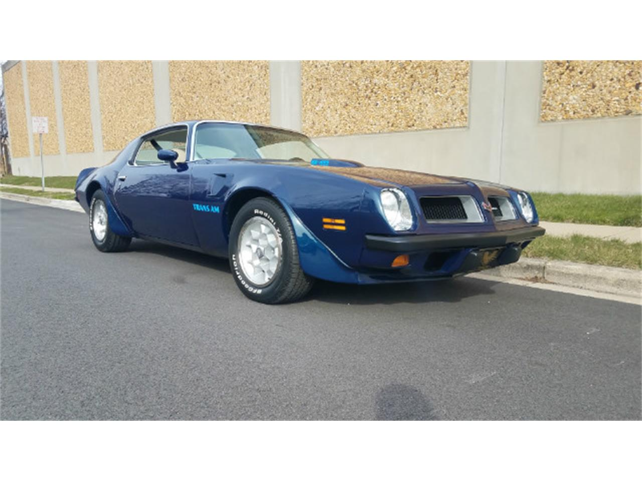 Large Picture of 1974 Firebird Trans Am located in Linthicum Maryland - MO89