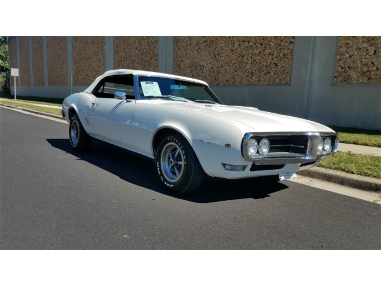 Large Picture of Classic 1968 Pontiac Firebird located in Maryland Offered by Universal Auto Sales - MO8B