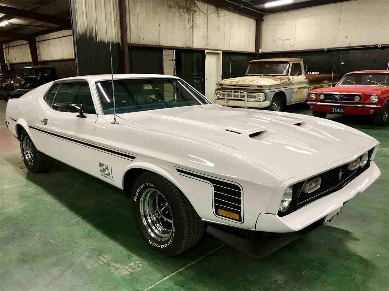 Large Picture of '71 Mustang Mach 1 - MO9T