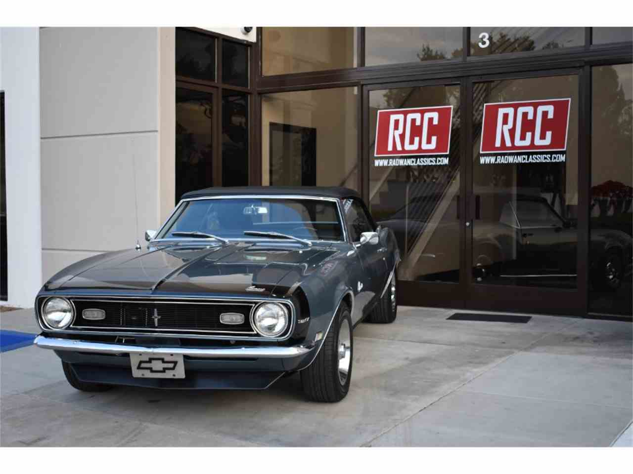 Large Picture of Classic 1968 Chevrolet Camaro located in California - $47,900.00 Offered by Radwan Classic Cars - MO9U
