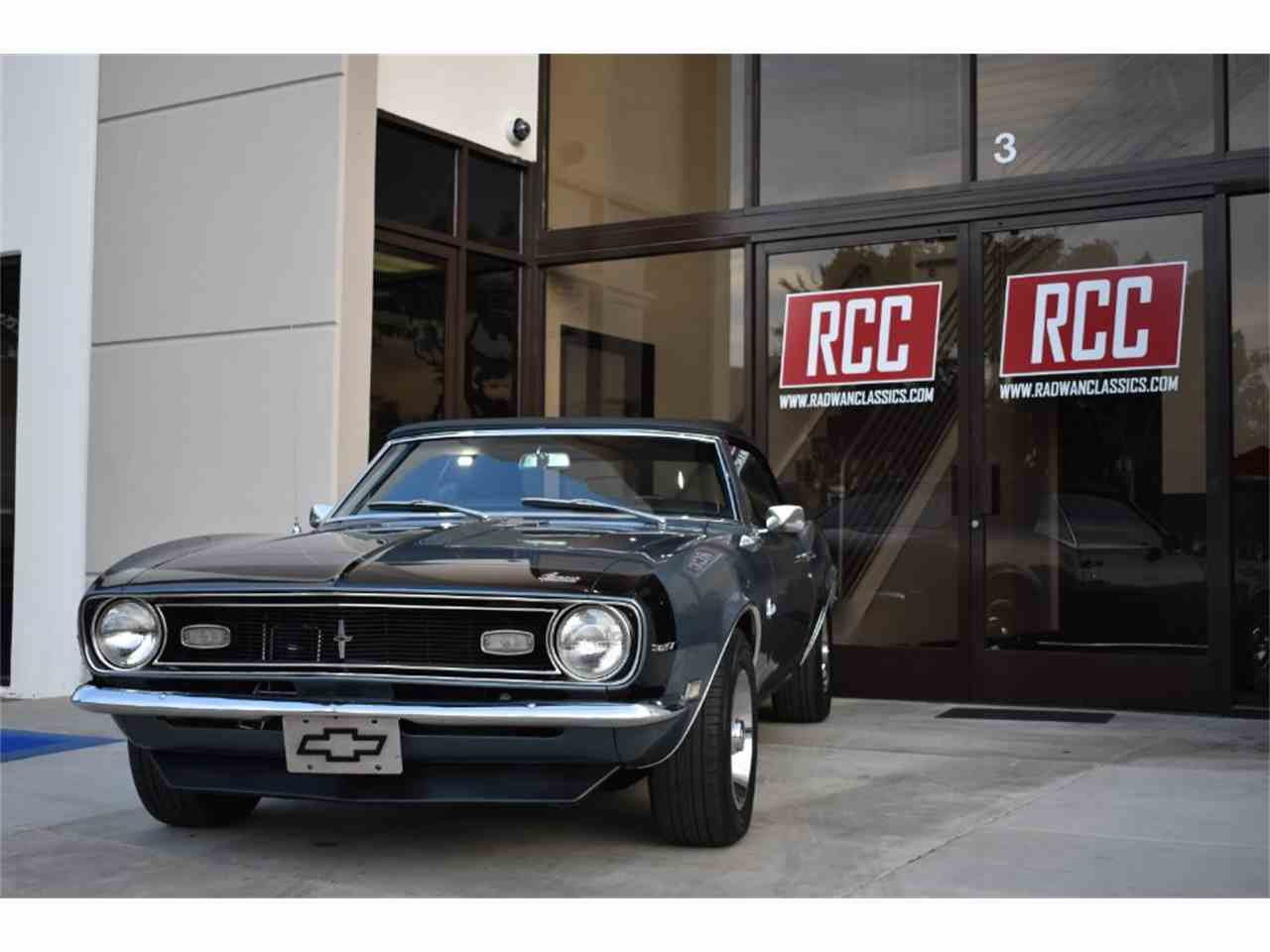 Large Picture of '68 Chevrolet Camaro located in California Offered by Radwan Classic Cars - MO9U