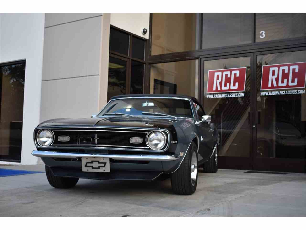 Large Picture of '68 Chevrolet Camaro located in Irvine California - $47,900.00 Offered by Radwan Classic Cars - MO9U