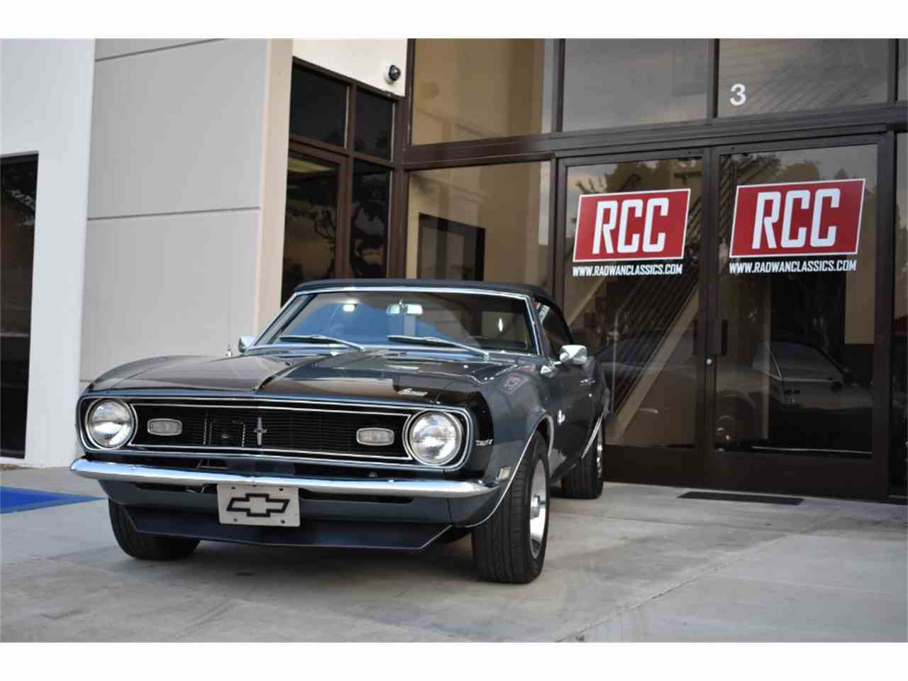 Large Picture of 1968 Chevrolet Camaro located in California Offered by Radwan Classic Cars - MO9U