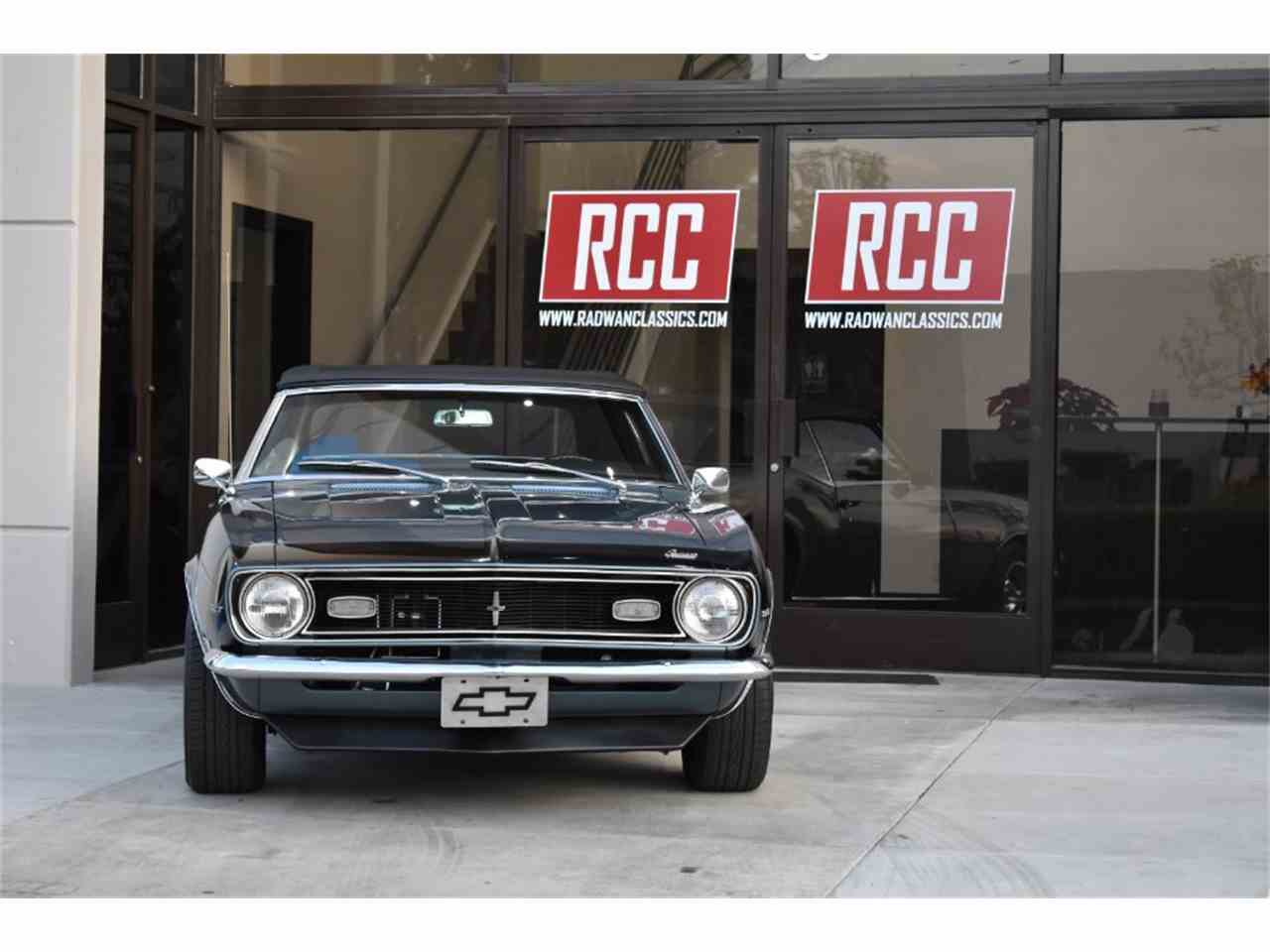 Large Picture of '68 Chevrolet Camaro Offered by Radwan Classic Cars - MO9U