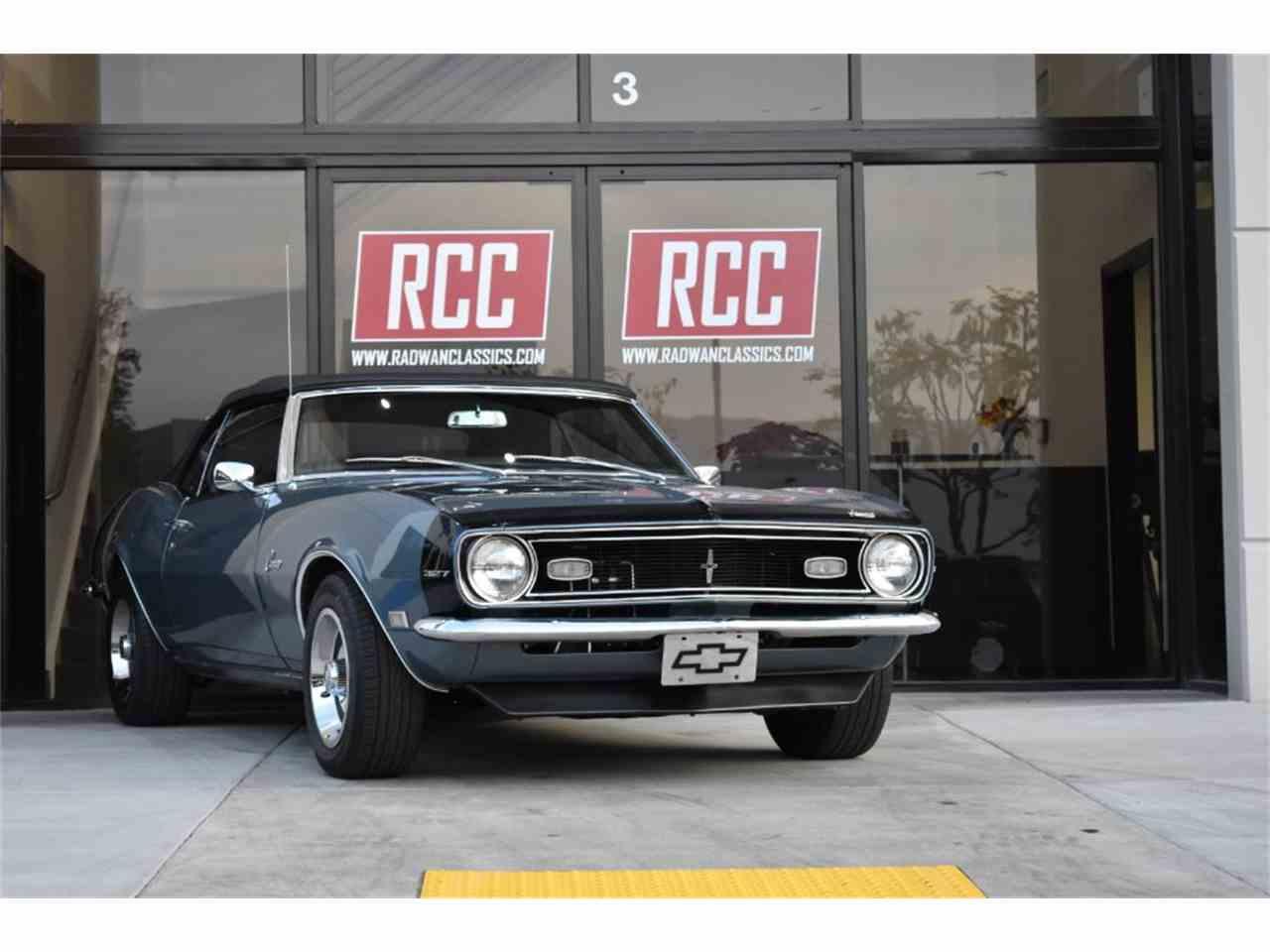 Large Picture of Classic 1968 Chevrolet Camaro located in Irvine California - MO9U