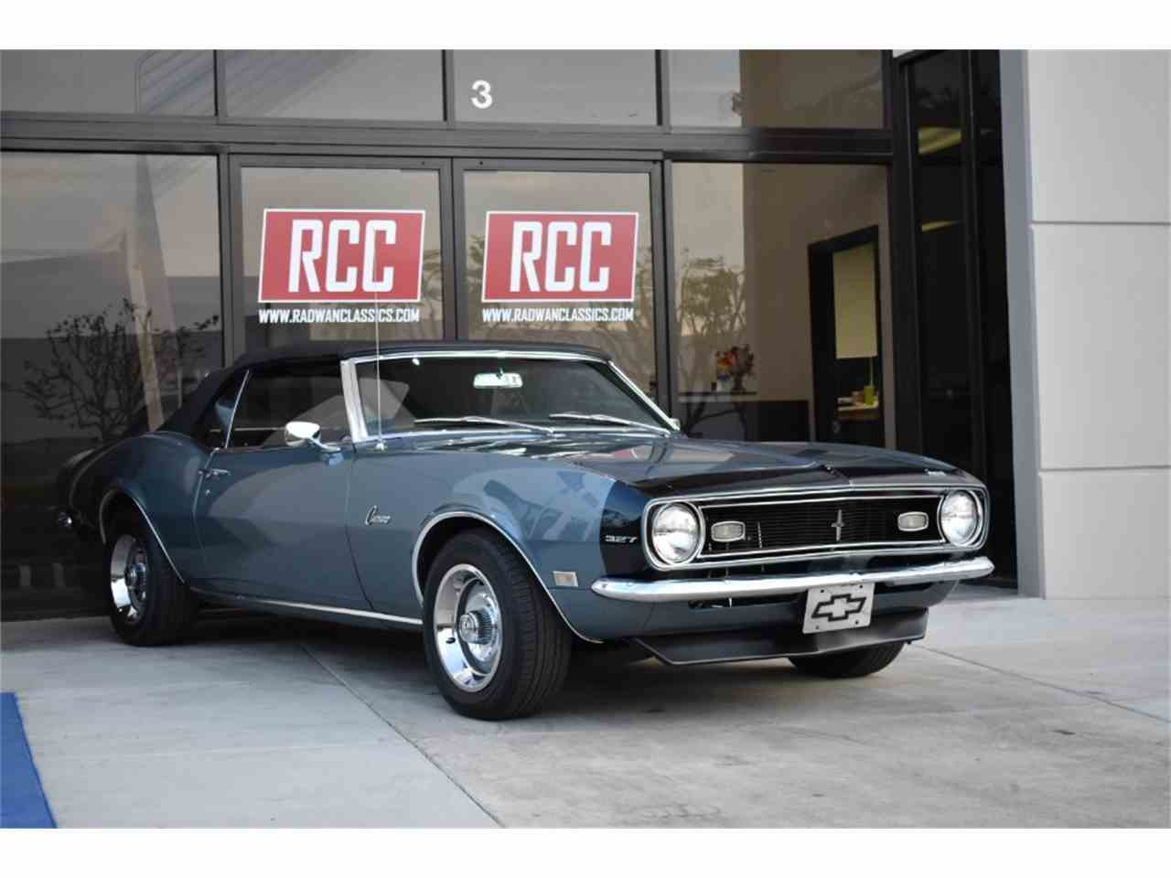 Large Picture of Classic '68 Camaro located in Irvine California Offered by Radwan Classic Cars - MO9U