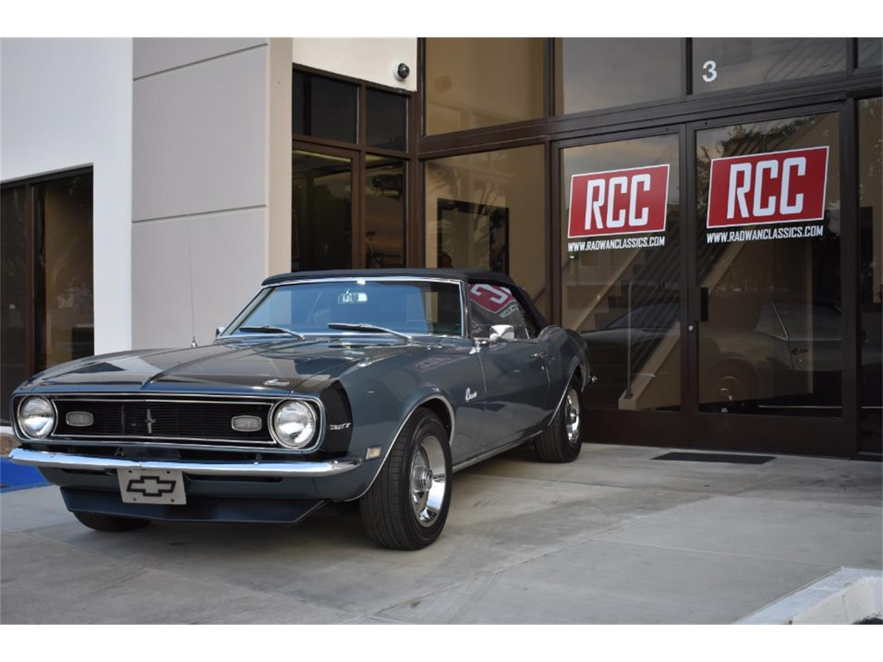 Large Picture of Classic '68 Chevrolet Camaro located in California Offered by Radwan Classic Cars - MO9U