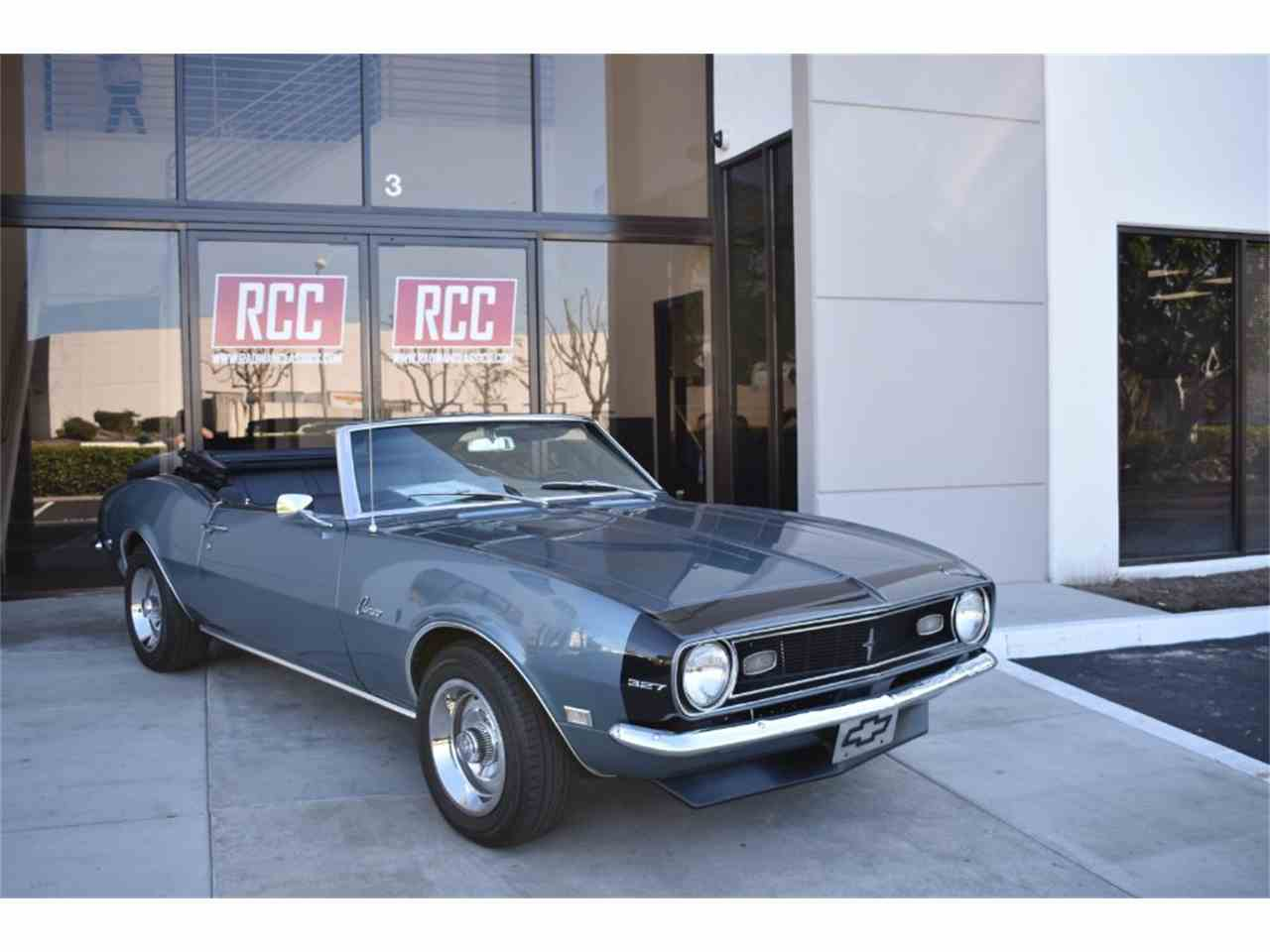 Large Picture of Classic 1968 Camaro located in California - MO9U