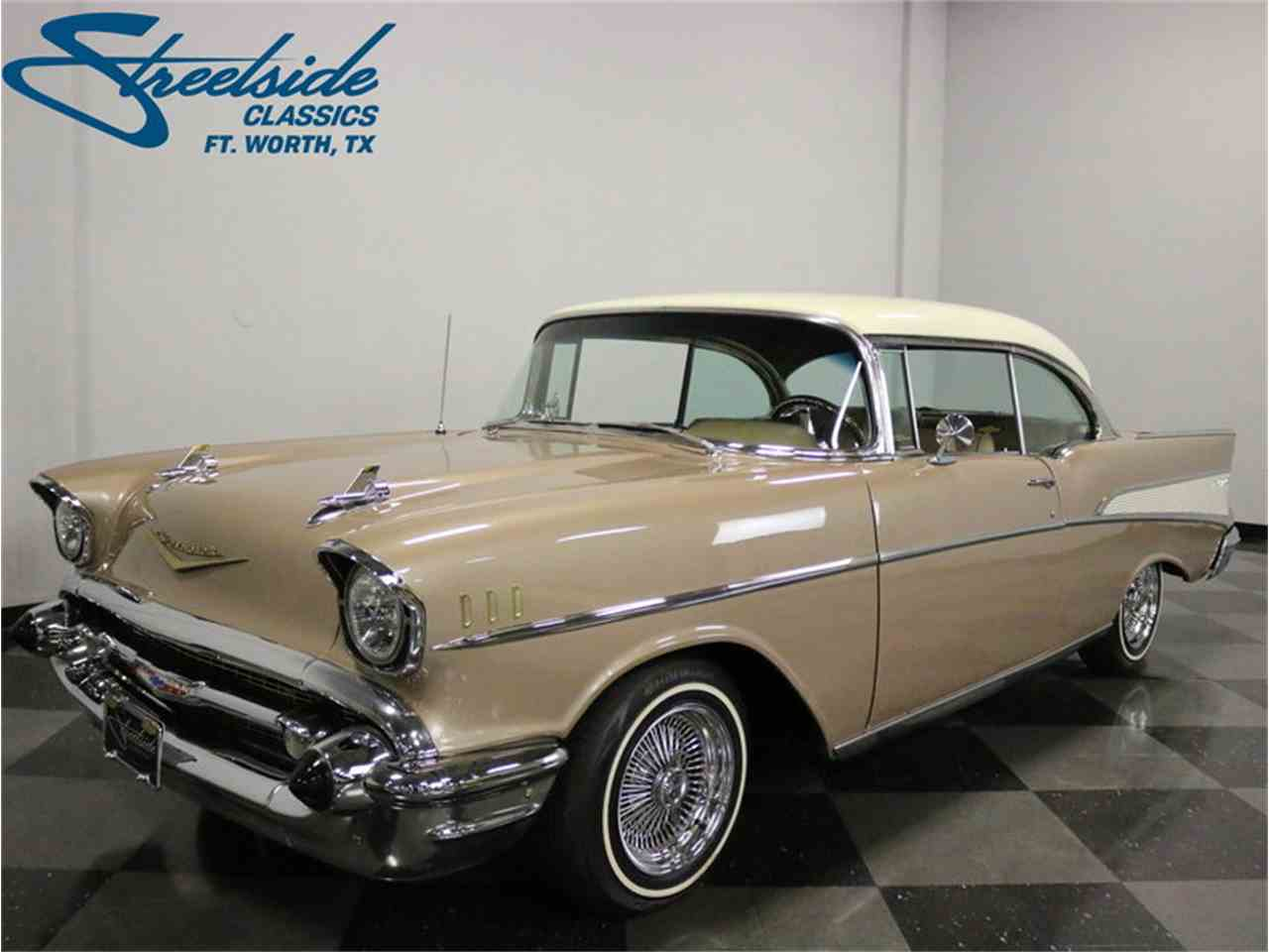 Large Picture of Classic '57 Chevrolet 150 located in Ft Worth Texas Offered by Streetside Classics - Dallas / Fort Worth - MOA8