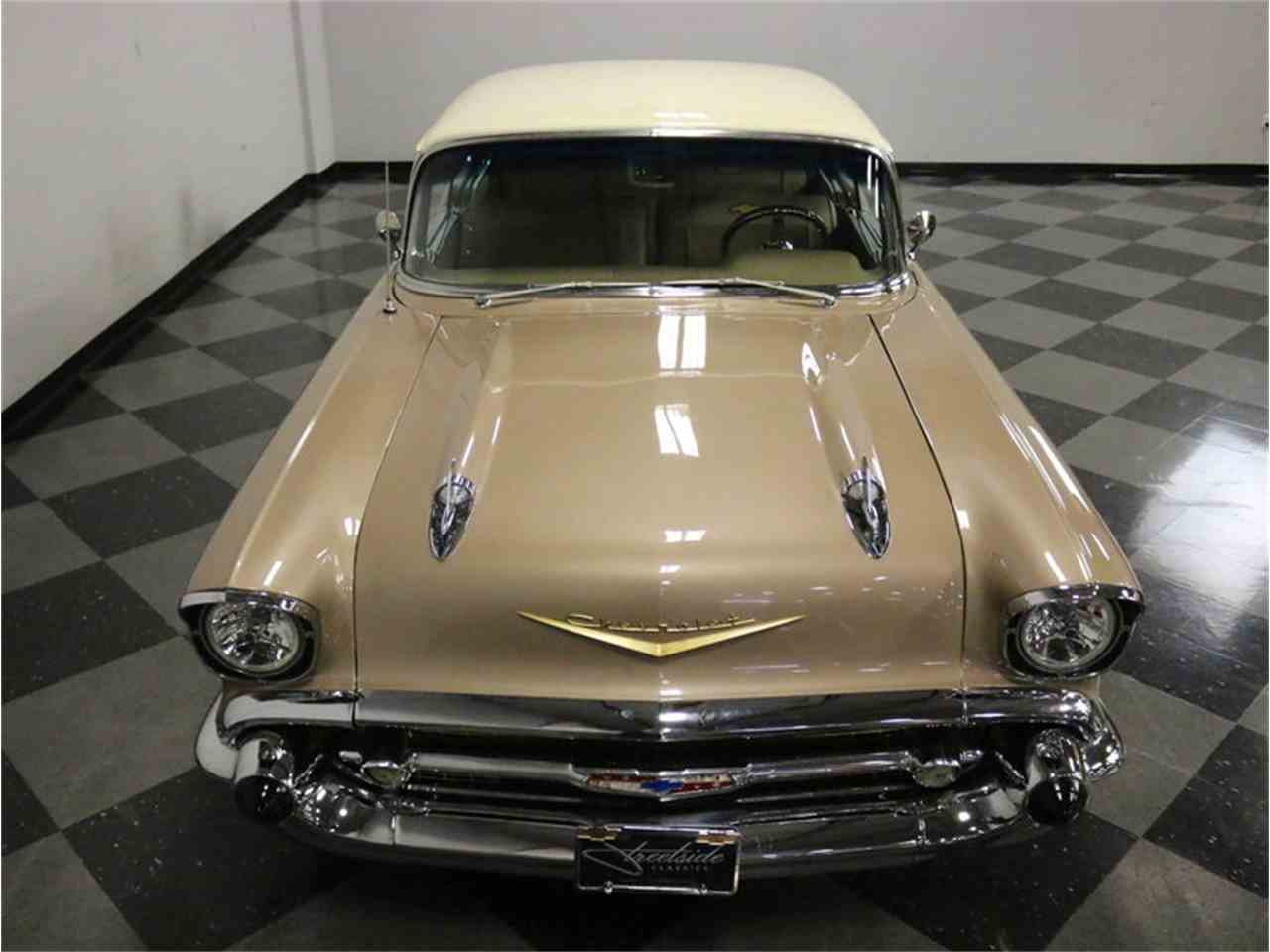 Large Picture of '57 Chevrolet 150 - $29,995.00 Offered by Streetside Classics - Dallas / Fort Worth - MOA8