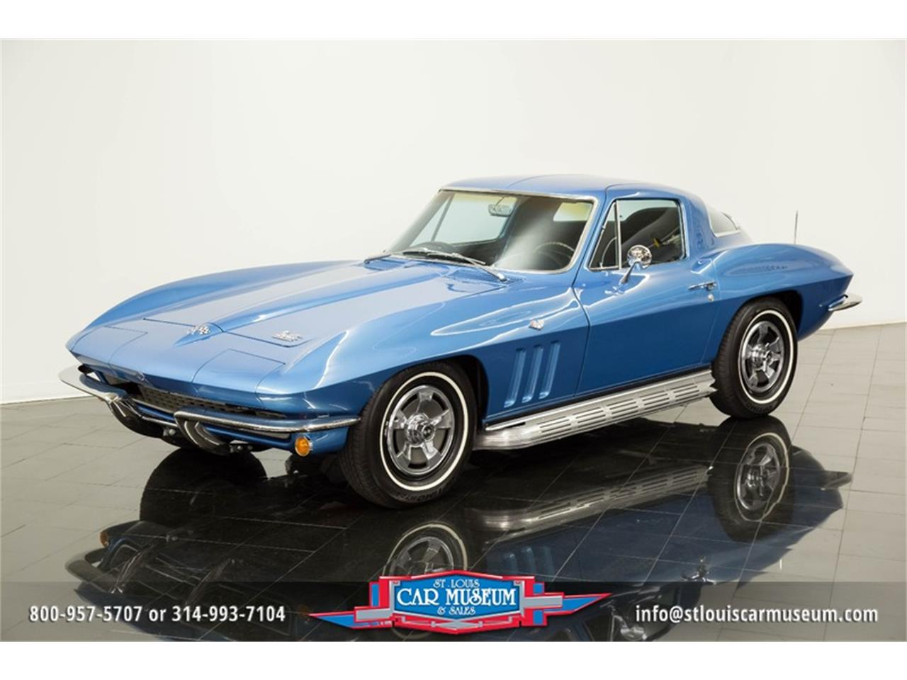 Large Picture of Classic '66 Chevrolet Corvette - $69,900.00 Offered by St. Louis Car Museum - MOAD