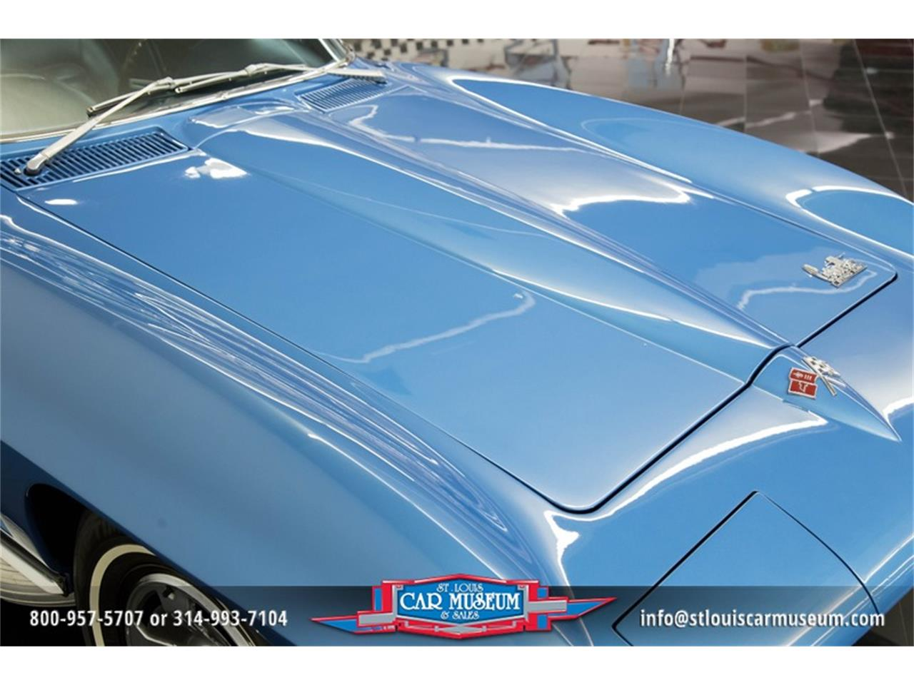 Large Picture of '66 Corvette Offered by St. Louis Car Museum - MOAD