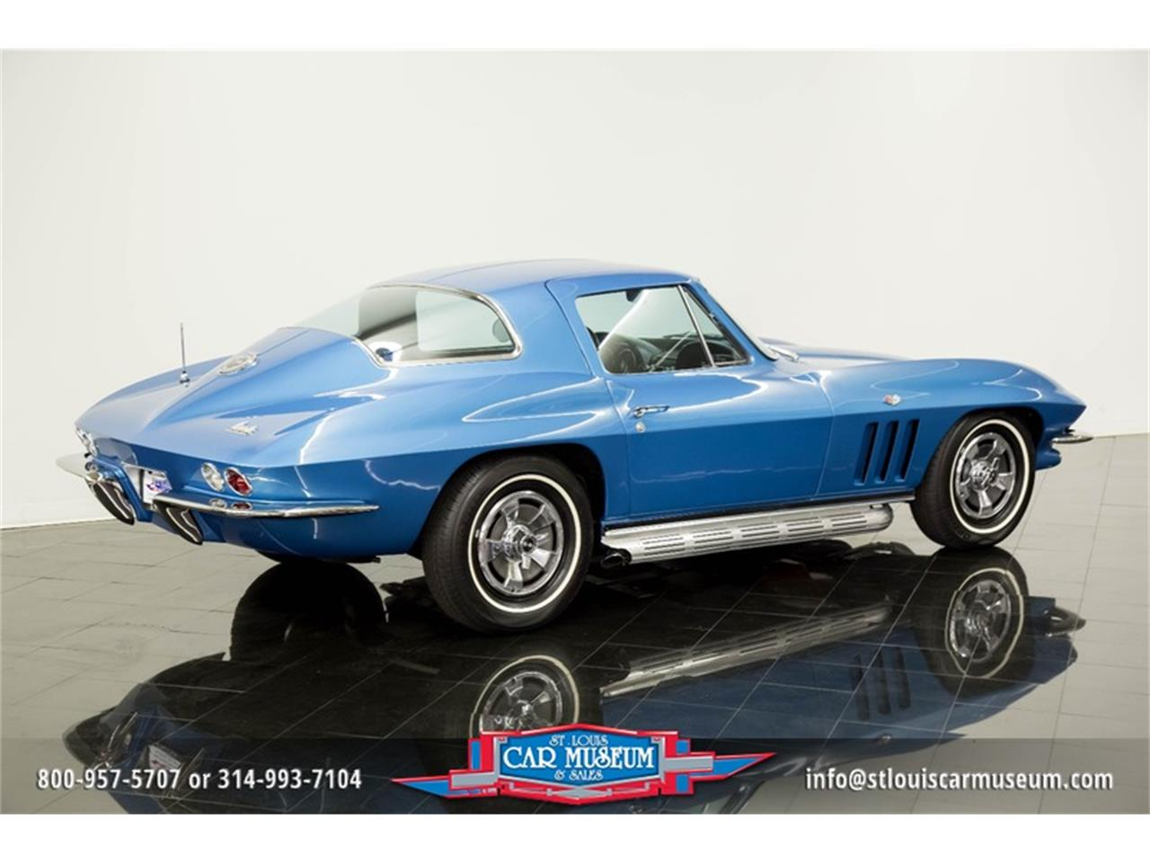Large Picture of '66 Chevrolet Corvette located in Missouri - $69,900.00 Offered by St. Louis Car Museum - MOAD
