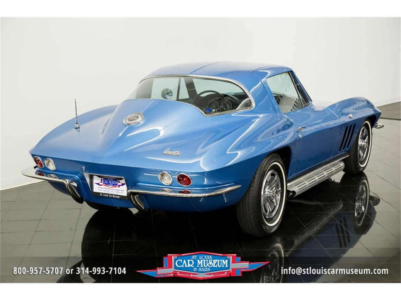 Large Picture of Classic 1966 Corvette Offered by St. Louis Car Museum - MOAD