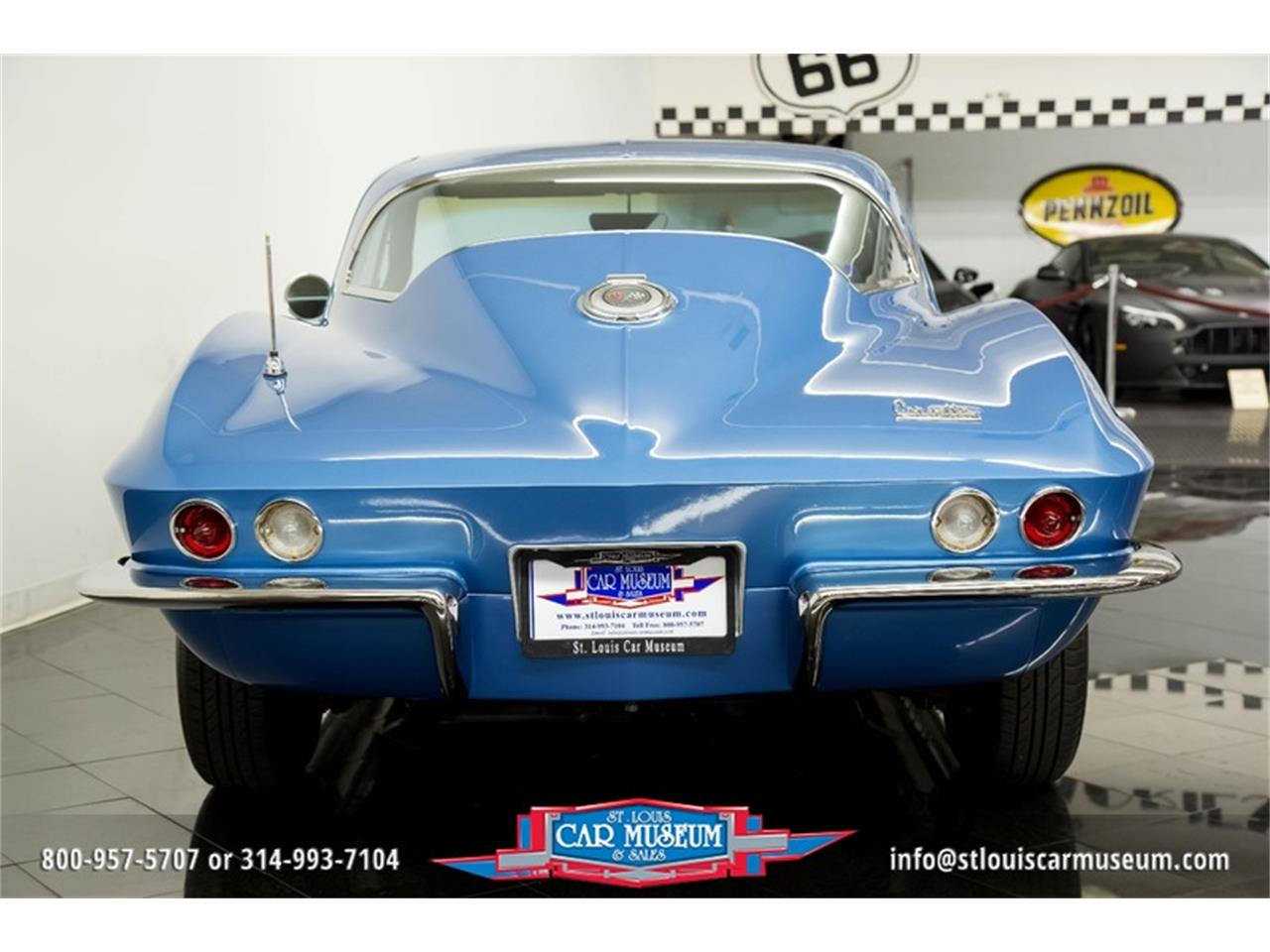 Large Picture of 1966 Chevrolet Corvette located in St. Louis Missouri Offered by St. Louis Car Museum - MOAD