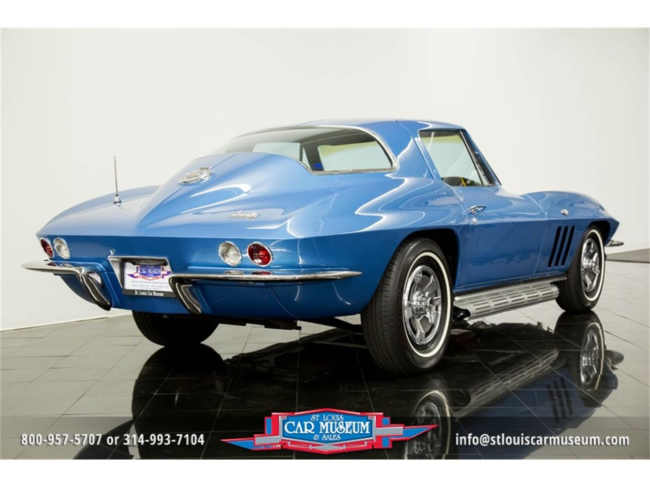 Large Picture of Classic 1966 Corvette located in St. Louis Missouri - $69,900.00 Offered by St. Louis Car Museum - MOAD